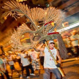 Fire Dragon Dance, Tai Hang, Hong Kong - 2011