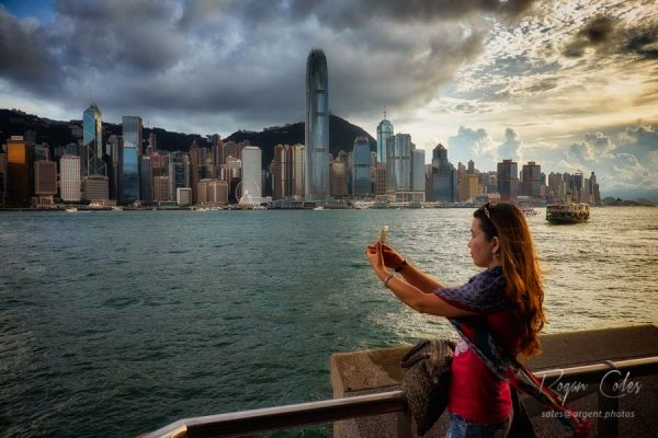 View from Kowloon Public Pier, Hong Kong