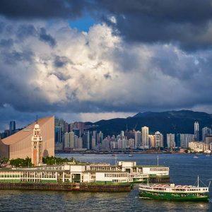 Star Ferry pier in Tsim Sha Tsui