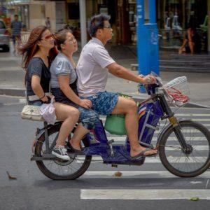 Commuting in Shanghai #049